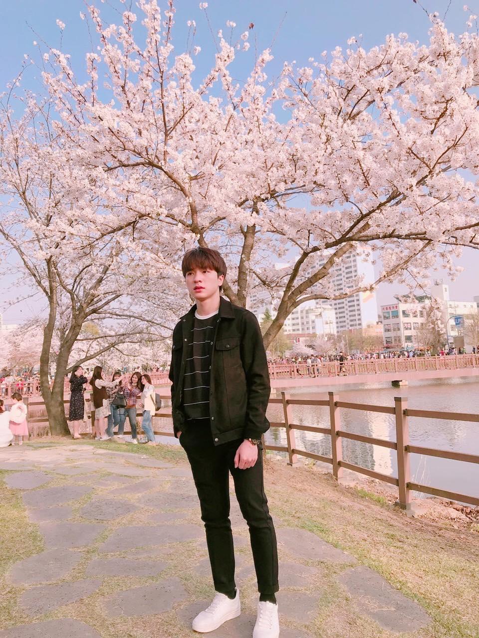 Nguyễn Hoài Tâm khi ở Hàn Quốc