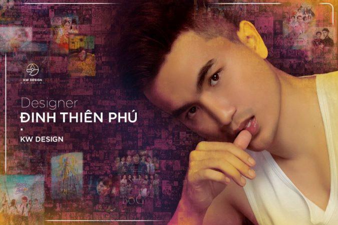 Đinh Thiên Phú Designer – Chàng trai trẻ tiêu biểu của làng thiết kế