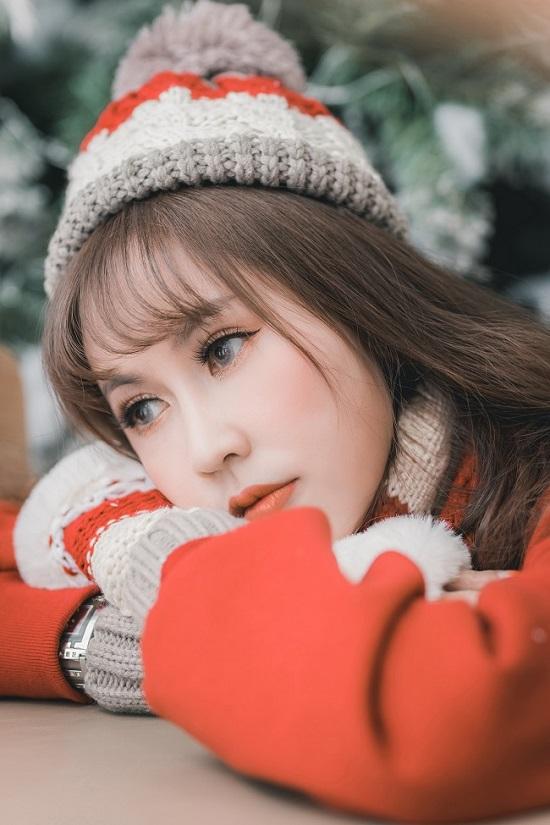 Huỳnh Thanh Makeup xinh đẹp trước ống kính
