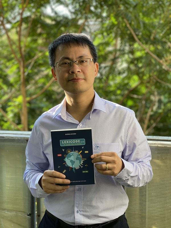 Thầy Dương Chí Vinh - tác giả sách tiếng Anh Lexicode