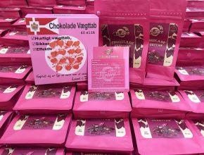 [THỰC HƯ] Kẹo Socola Giảm Cân Chokolade Vaegttab liệu có thần thánh