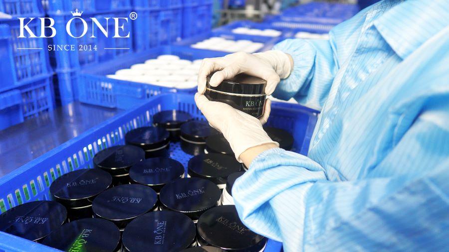 KBONE được sản xuất với dây chuyền hiện đại và tiên tiến