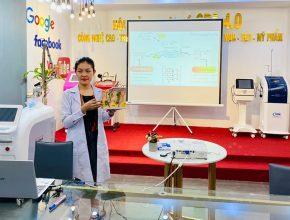Master thẩm mỹ Quỳnh Thy – Ươm mầm tài năng ngành chăm sóc sắc đẹp