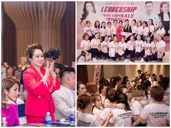 """""""Kinh doanh thành công là khi ta biết gắn kết mọi người và gắn kết xã hội"""" - Chị Phạm Giang chia sẻ."""
