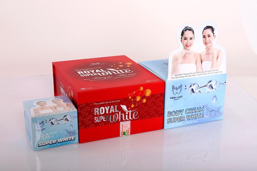 Royal Super White - Thần dược diệu kì dành riêng cho phái đẹp