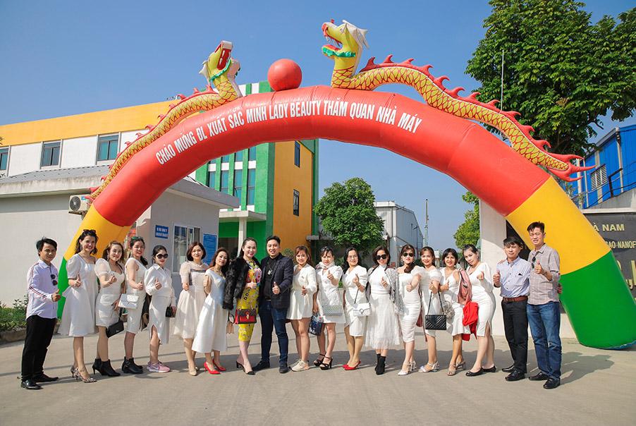 Minh Lady Beauty đã có cơ hội được tham quan nhà máy đạt chuẩn GMP vào ngày 08.12.2020