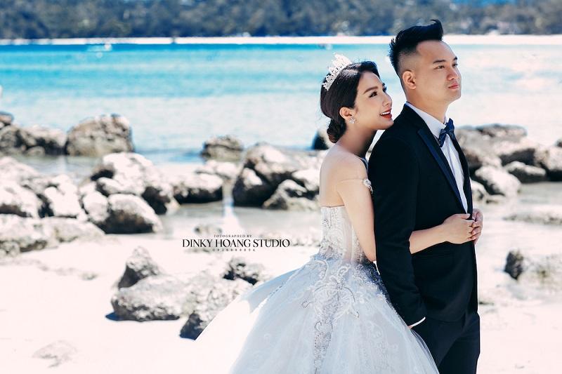 Bộ ảnh cưới của nghệ sĩ Diệp Lâm Anh