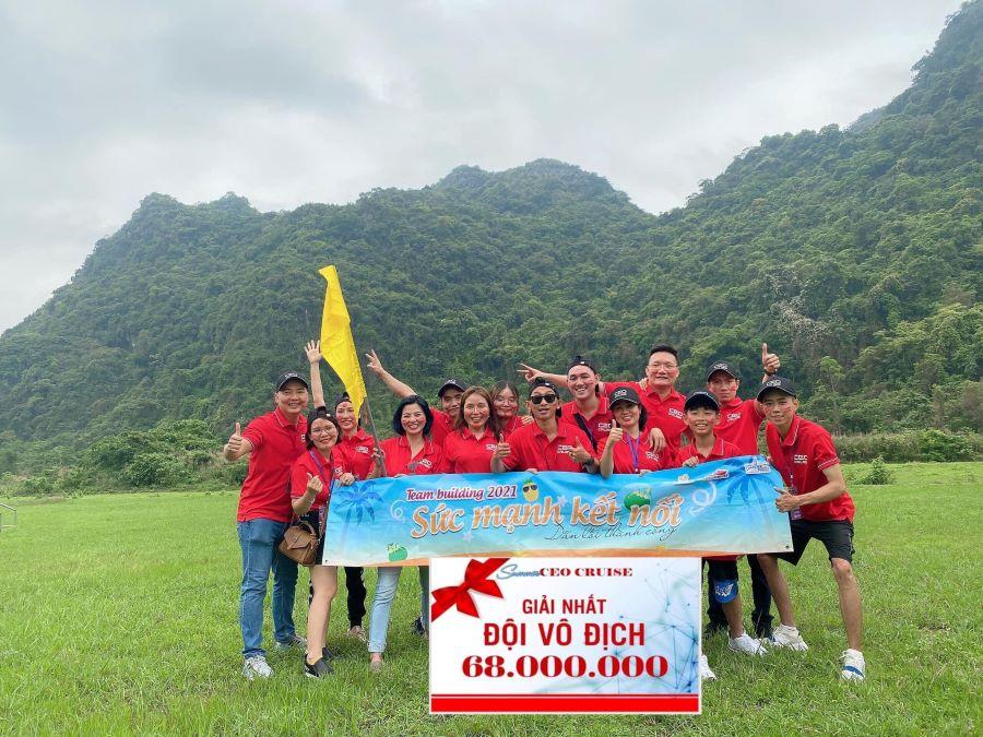 Chị Vân Khánh cùng những anh tài trong sự kiện mới nhất tại Hạ Long