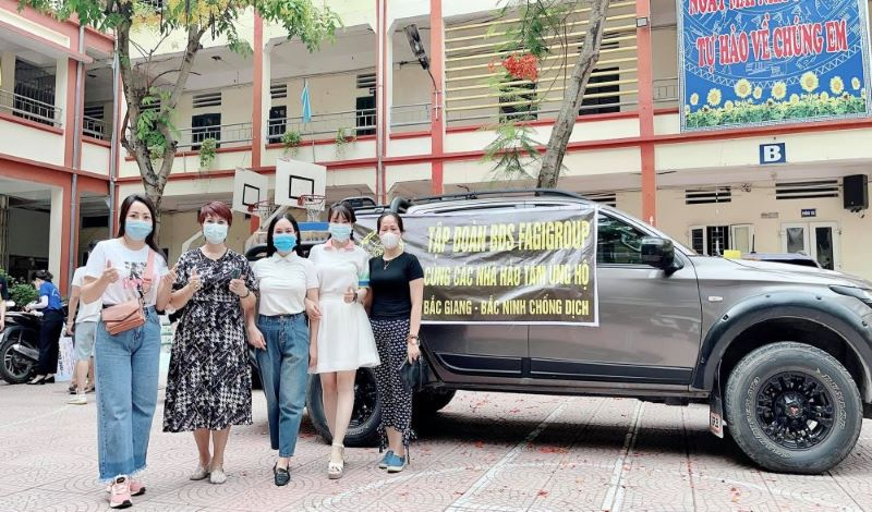 Á khôi 9x trong chuyến gây quỹ từ thiện hỗ trợ Covid tại Bắc Giang