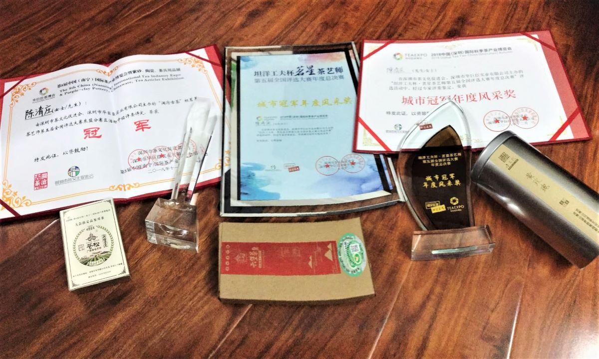 Những giải thưởng mà Thanh Trang đã đạt được