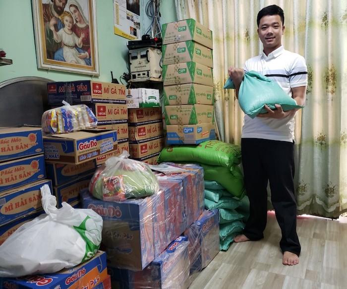 """Nguyễn Chu Kim Thu đã kêu gọi cộng đồng mạng với tinh thần """"lá lành đùm lá rách"""""""